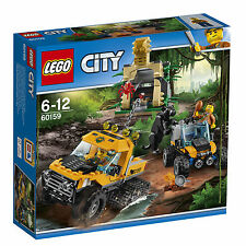 Neu LEGO 60159 City: Mission mit dem Dschungel-Halbkettenfahrzeug 6667280