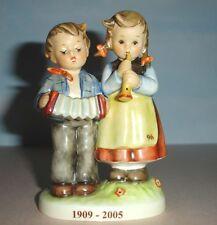 Hummel Goebel Birthday Serenade 218/2/0 Tmk8 Accordion Boy Flute Girl 1909-2005