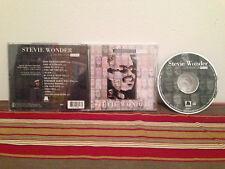 Conversation Peace by Stevie Wonder  Music cd case-disc & insert
