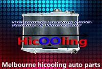 52MM 2 CORE Aluminum Radiator for TOYOTA COROLLA AE86 4AGE GTS Manual 1983-1987