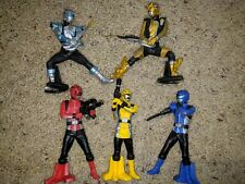 Tokumei Sentai Gobusters 5 Figure Lot Bandai