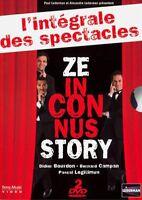 Coffret DVD Les Inconnus  Ze Inconnus Story L'intégrale des spectacles ZAZA2CATS