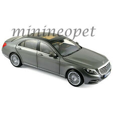 NOREV 183481 2013 MERCEDES BENZ S CLASS 1/18 DIECAST MODEL CAR IRIDIUM SILVER