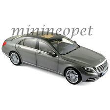 NOREV 183481 2013 MERCEDES BENZ S CLASS 1/18 DIECAST MODEL CAR IRIDIUM SILVER