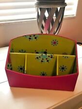 Desk Organizer-Pink/Green