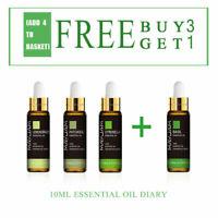10ML 100% Pure Parfums d'aromathérapie naturels aux huiles essentielles