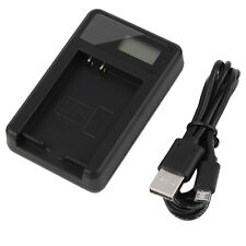 Quality Battery charger SLB-10A & USB cable Samsung WB550 WB600 WB650 WB700 CW