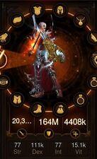 Diablo 3 Ros Ps4 Modded Monk (Ulianas Stratagem) Full Set (Softcore)