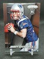 2014 Panini Prizm Jimmy Garoppolo Rookie Card Looking Left Base #243 RC 49ers