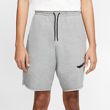 Jordan Jumpman Logo Shorts Mens Fleece Bermuda Sweat Wicking Bottom [AQ3115-091]