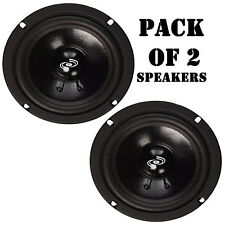 "Pack of (2) Pyle PDMR5 Car DJ/Home Mid Bass Mid Range 200W, 5"" Speakers Drivers"