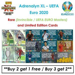 Panini Adrenalyn XL - UEFA Euro 2020: Rare - Master/Invincible & Limited Edition