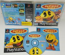 Pac-Man World Rare Complete Sony PlayStation 1 (1999) FAST FREE TRACKED POST
