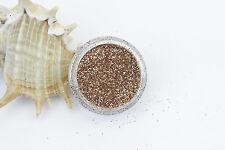 Champagne/Rose Gold Fine Dust Glitter Nail Art Eye Shadow buy 3 + 3 free