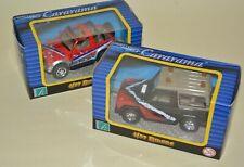 Cararama Hot Riders x 2 JEEP 4X4 Land Rover Hongwell Boxed