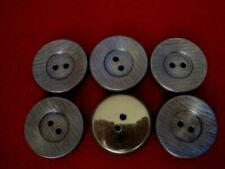 Blusenknöpfe Puppenknöpfe 11mm 8x edle kleine Metallknöpfe #33 Ranken