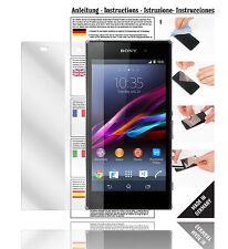 6x Displayschutzfolien für Sony Xperia Z1 Schutzfolie Klar Folie Displayfolie