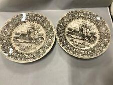 2 Nevco Large decorative plates