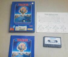 TRACKER IN BOX COMMODORE 64 128 GAME RETRO  BOXED