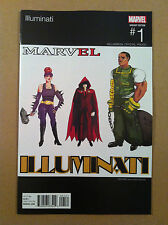 Illuminati #1 Brittany Holloway-Brown Hip-Hop Variant Ice-T Nm 1St Printing 2015