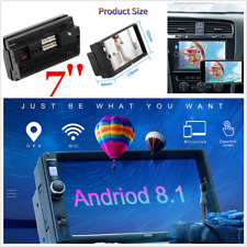 2 Din Android 8.1 Car Stereo 1+16G GPS 7'' HD Touch MP5 Player FM WIFI Radio