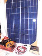 Solar Panel Kit 100 Watt /1000WCP/2000WPP Inverter 12V-RV-Boat-Off Grid