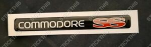 Holden VR VS SS Dash Badge - COMMODORE SS Decal Sticker