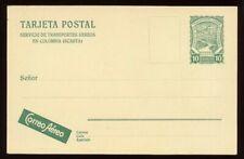 Colombia - 1924 - Postal Stationery - 10 Centavos Scadta Postal Card - H&G F1