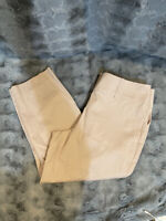 Ann Taylor Petite Curvy Dress Career Nude Pink Pants Women's Size 6P