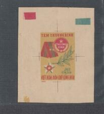 1963 Vietnam North Sc # 317 Thuong Binh Stamp Pre-trial Color Proof