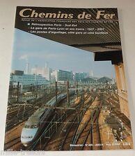 CHEMINS de FER N° 469 de 2001 : Du PLM au TGV - PARIS-LYON - Locomotive à vapeur