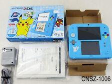Japanese Nintendo Pokemon Sun Moon Light Blue 2DS Console Japan Import US Seller