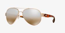 New Costa Del Mar South Point Polarized Sunglasses 580P Gold/Silver Mirror