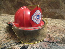 MICHIGAN FIREMEN'S ASSOCIATION REPLICA FIRE HELMET BANK