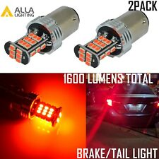 Alla Lighting 30-LED 1157 Brake/Stop Tail Light Bulb Lamp Bright Red Replacement