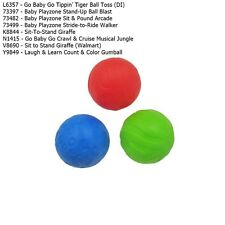 New Fisher Price Go Baby Go Baby Playzone Sit-To-Stand L&L Replacement Balls