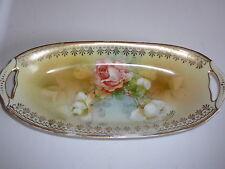 Royal Waldenburg Dish Vintage Oblong Hand Painted Made In Germany KPM 26314