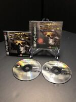 Command & Conquer (Sony PlayStation 1, PS1) COMPLETE CIB BLACK LABEL! VG, Teated