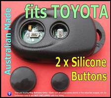 for TOYOTA Camry Altise Corolla Grande remote -2 Silicone key BUTTONS (1set)