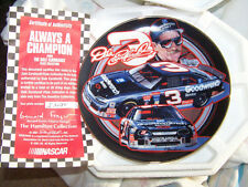 2001 Dale Earnhardt Sr. Always A Champion Hamilton Collector Plate NIB Nascar