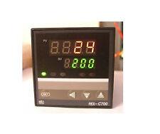 PID Digital Temperature Controller REX-C700 100-240VAC 0-400℃ Relay Output