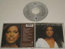 CARLY SIMON/THE BEST OF VARLY SIMON - VOLUME ONE(ELEKTRA 9548 30460-2) CD ALBUM