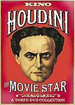 Houdini - The Movie Star (DVD, 2008, 3-Disc Set) Ultra Rare, OOP, Sealed, NEW!!!