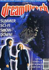 X-FILES / GODZILLA / LOST IN SPACEDreamwatchno.48August1998