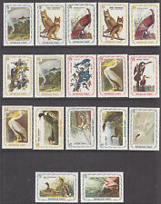 Haiti Sc 691 Footnote MLH. 1975 First Audubon Birds, cplt set, VF