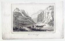 Ozeanien-Polynesien-Marquesas Inseln-Tchitchagoff-Ethnologie-Stahlstich 1836