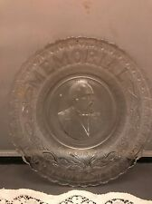 EAPG Garfield Memorial Plate Campbell Jones And Company Wonderful Detail