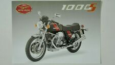 Prospectus Catalogue Brochure Motos MOTO GUZZI 1000S 1991