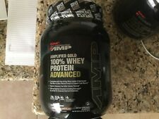 GNC Pro Performance Amplified Gold 100% Whey Protein Chocolate Powder (NEW)