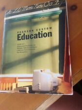 Pearson Custom Education Educational Psychology For Multiple Subjects Candidates